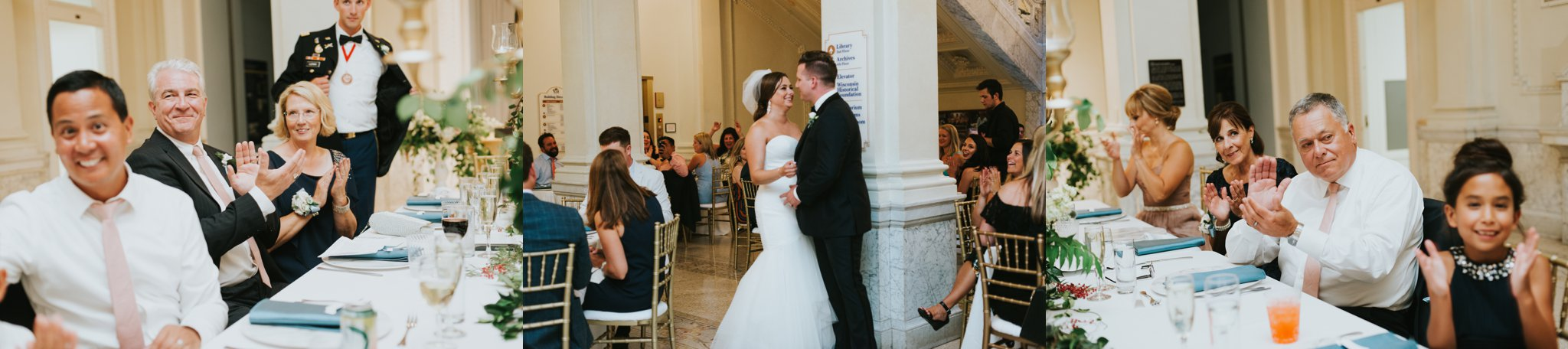 Wisconsin Historical Society Wedding