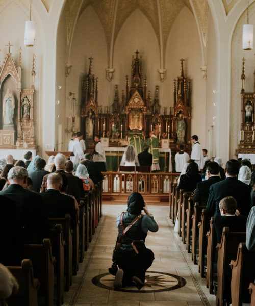 A Catholic Wedding Photographer