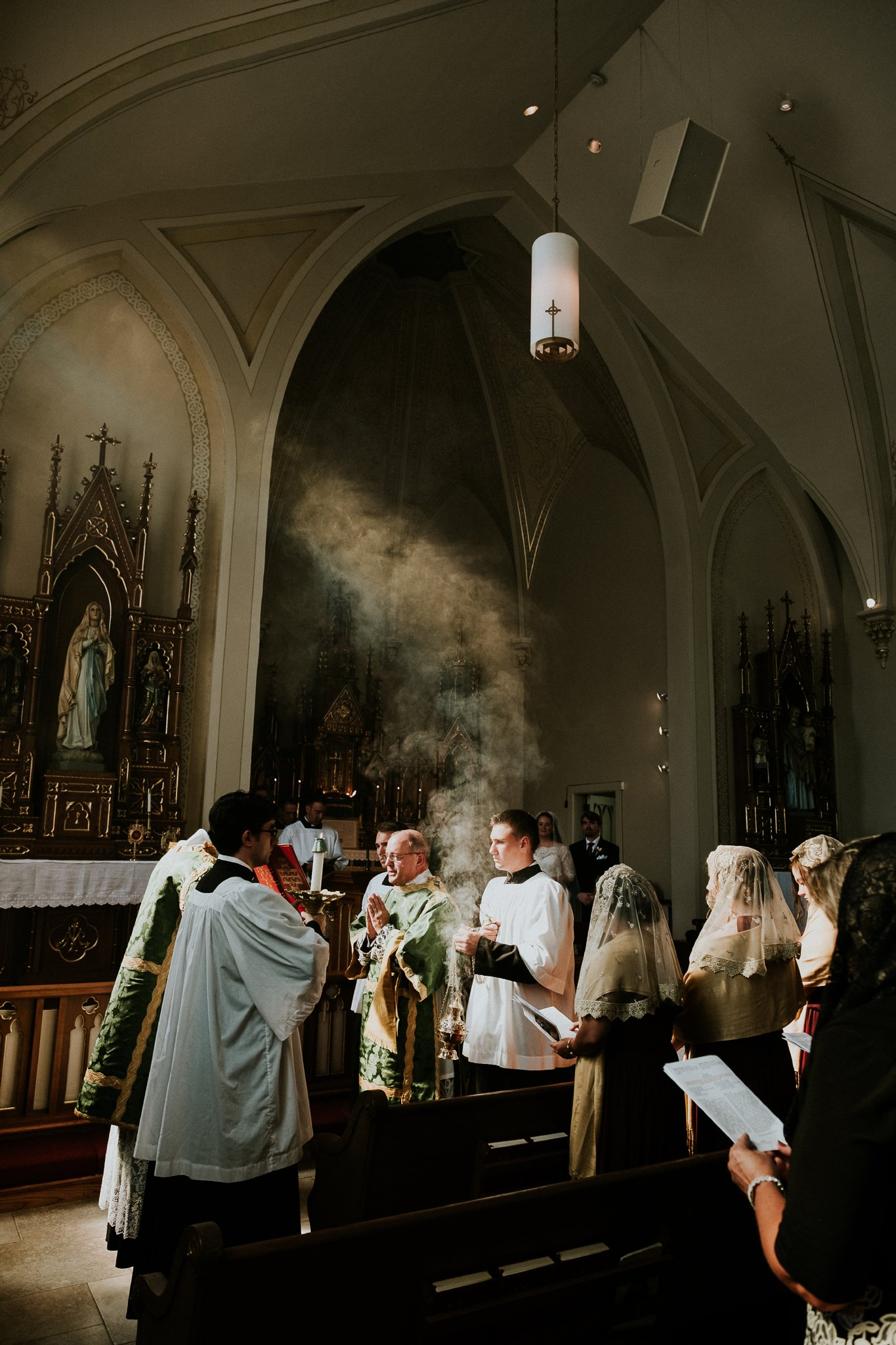 Catholic Wedding Photographer