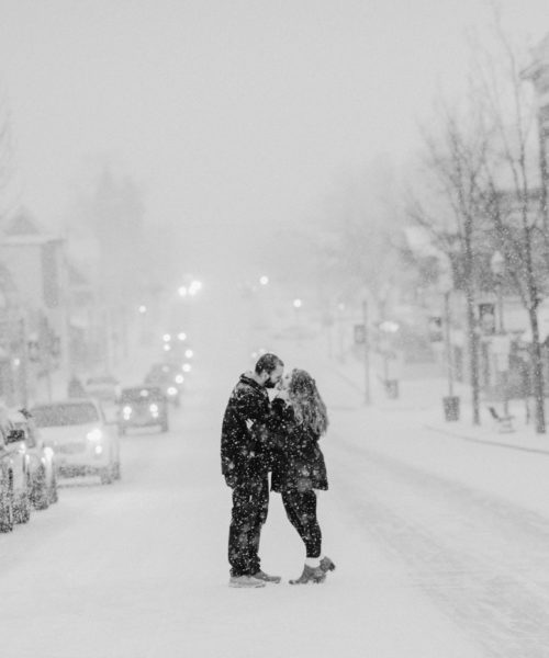Blizzard Engagement Session
