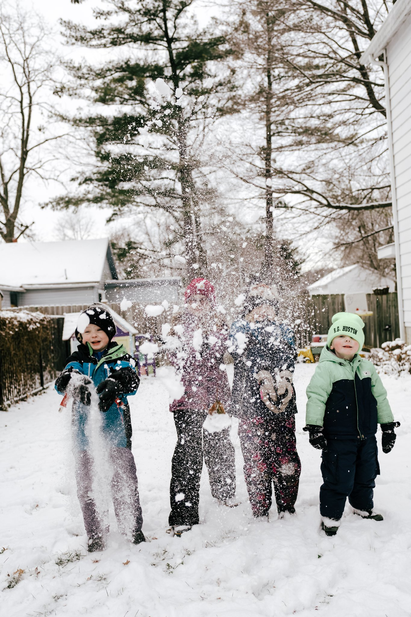 Family Snow Fun
